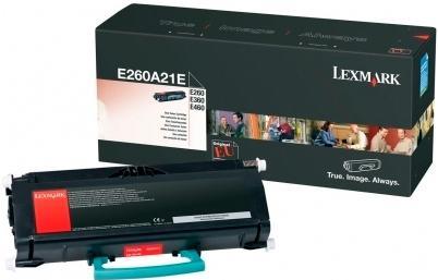 Картридж Lexmark E260A21E черный оригинальный