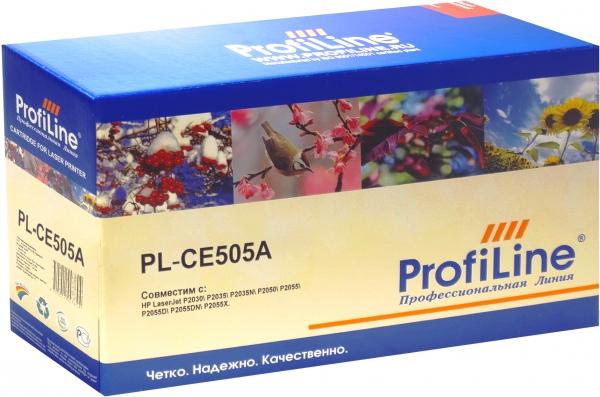 Картридж совместимый ProfiLine CE505A/719 для HP