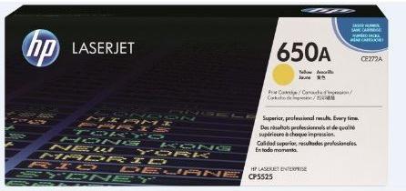 Картридж HP CE272A желтый оригинальный