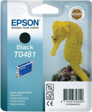 Картридж EPSON T048140 черный оригинальный