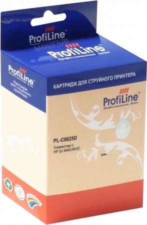 Картридж совместимый ProfiLine C6625D №17 для HP Color