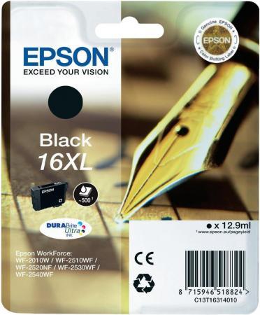Картридж EPSON C13T16314010 черный оригинальный