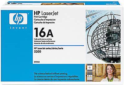 Картридж HP Q7516A чёрный оригинал
