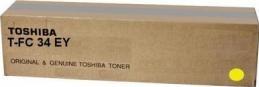 Картридж Toshiba T-FC34EY (6A000001525) желтый оригинальный