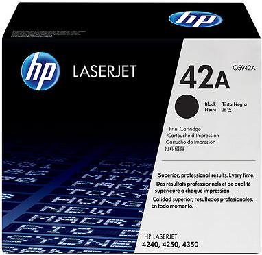 Картридж HP Q5942A черный оригинальный