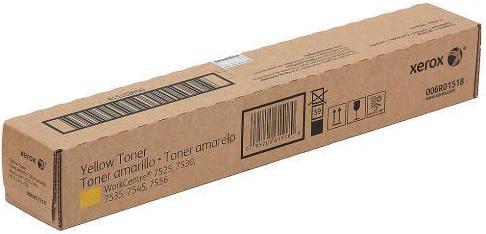 Тонер-картридж XEROX 006R01518 желтый оригинальный DIL для WC 7545/7556