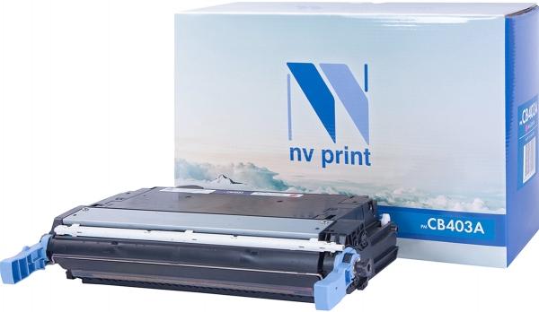 Картридж совместимый NVPrint CB403A для HP пурпурный