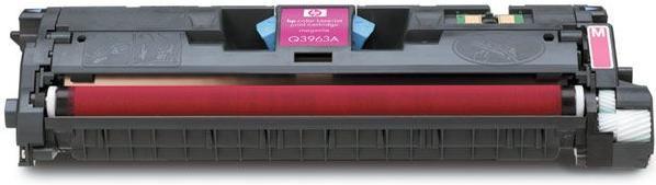 Картридж HP Q3963А пурпурный оригинальный незн.повр.упак