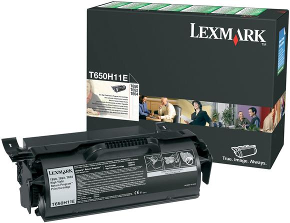 Картридж Lexmark T650H11E оригинальный