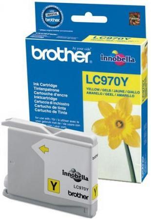 Картридж Brother LC970Y желтый оригинальный
