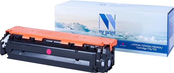 Картридж совместимый NVPrint CF213A/CE323A/CB543A/Canon 716/731 для HP и Canon пурпурный