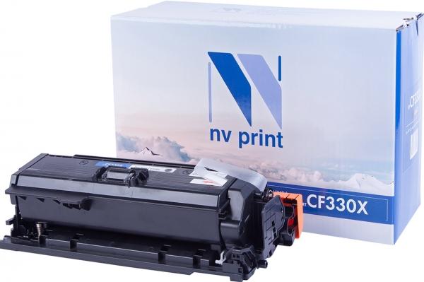 Картридж совместимый NVPrint CF330X для HP черный
