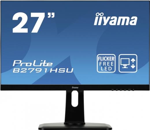"Монитор 27"" iiYama B2791HSU-B1 Black"