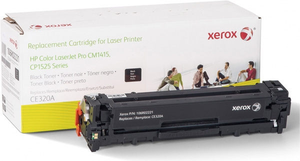 Картридж совместимый Xerox HVD CE320A для HP черный