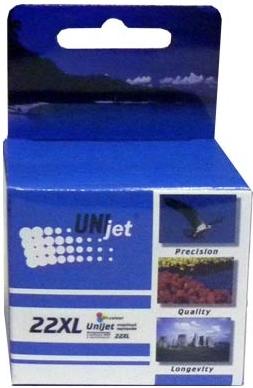 Картридж совместимый Unijet C9352CE (22XL) цветной для HP