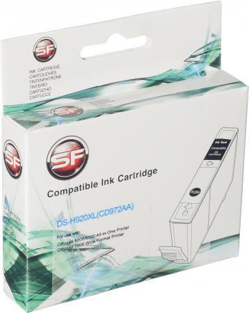 Картридж совместимый SuperFine SF-CD972C голубой для HP