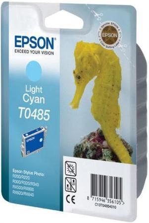 Картридж EPSON T048540 светло-голубой оригинальный