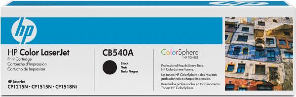 Картридж HP CB540A черный совместимый