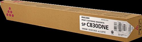 Принт-картридж SPC830DNE Ricoh малиновый