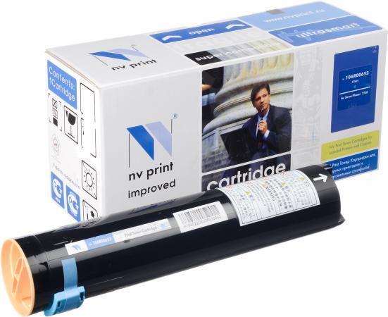 Тонер-картридж совместимый NV Print 106R00653 голубой для Xerox