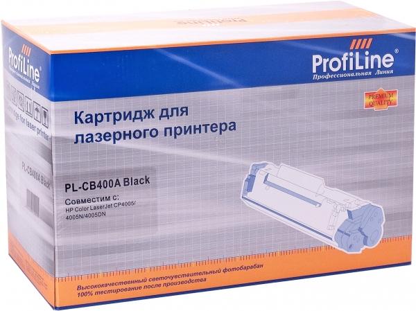 Картридж совместимый ProfiLine CB400A Black для HP