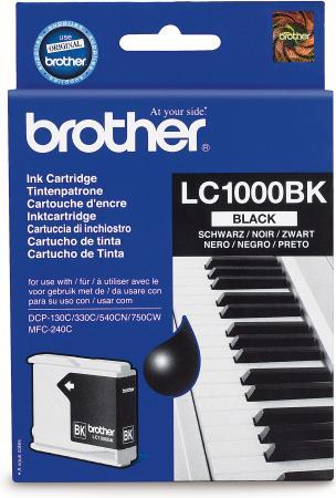 Картридж Brother LC1000BK черный оригинальный