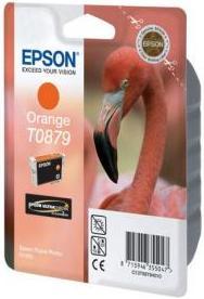Картридж EPSON T08794010 оранжевый оригинальный