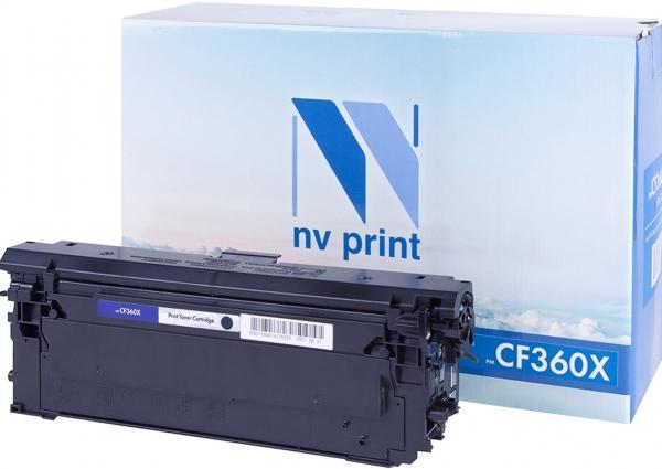 Картридж совместимый NVPrint CF360X для НР черный
