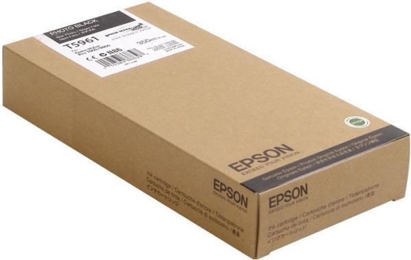 Картридж EPSON C13T596100 черный оригинальный