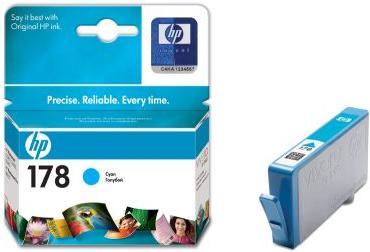 Картридж HP CB318HE голубой оригинальный