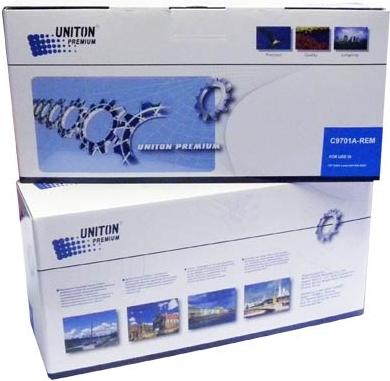 Картридж совместимый UNITON Premium C9701A (121A) голубой для HP