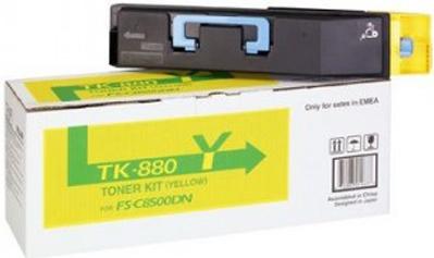 Картридж Kyocera TK-880Y желтый оригинальный