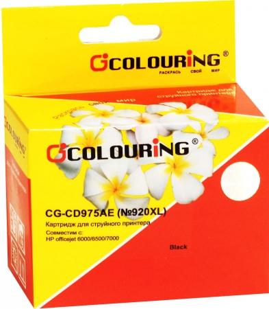 Картридж совместимый Colouring CD975AE №920XL для HP черный