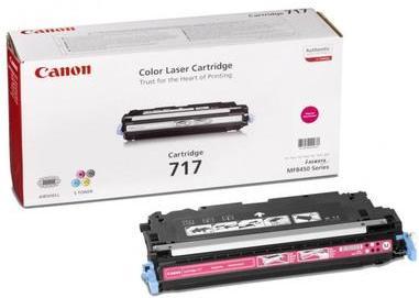 Картридж CANON 717M пурпурный оригинальный