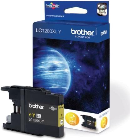 Картридж Brother LC1280XLY желтый совместимый InK Cartridge