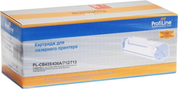 Картридж совместимый ProfiLine CB435/436A/712/713 для HP