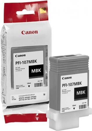 Картридж для Canon PFI-107 МBK матовый черный