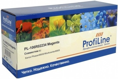 Картридж совместимый ProfiLine 106R02234 пурпурный для Xerox