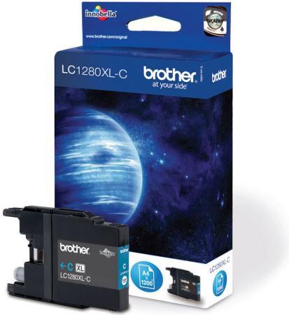 Картридж Brother LC1280XLC голубой оригинальный