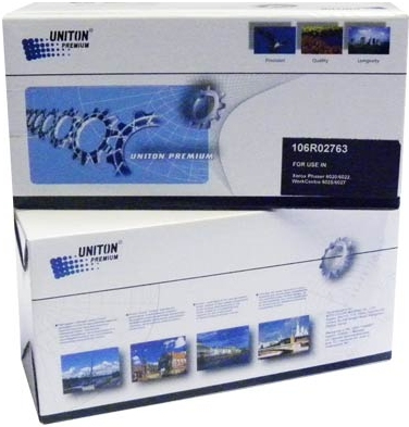 Картридж совместимый UNITON Premium 106R02763 черный для XEROX