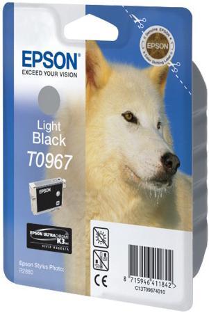Картридж EPSON C13T09674010 серый оригинальный