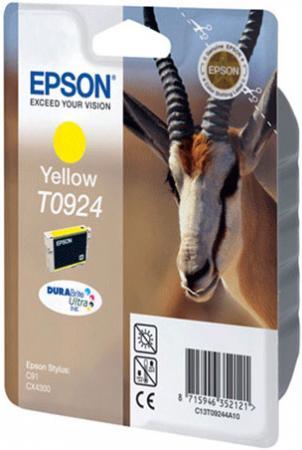 Картридж EPSON T09244A10 желтый оригинальный