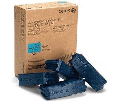 Чернила твердые XEROX 108R00837 голубые оригинальные 4 штуки