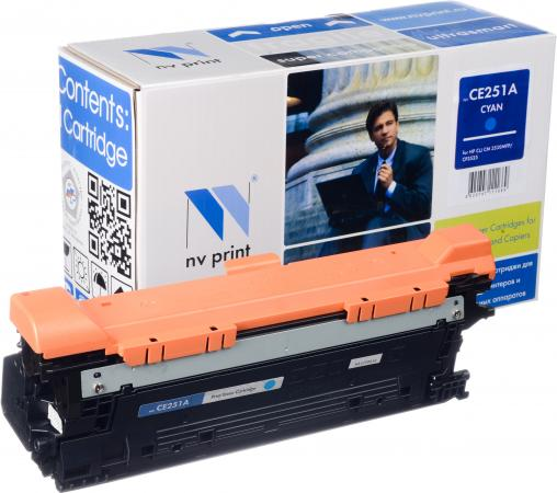 Картридж совместимый NV Print CE251A голубой для HP
