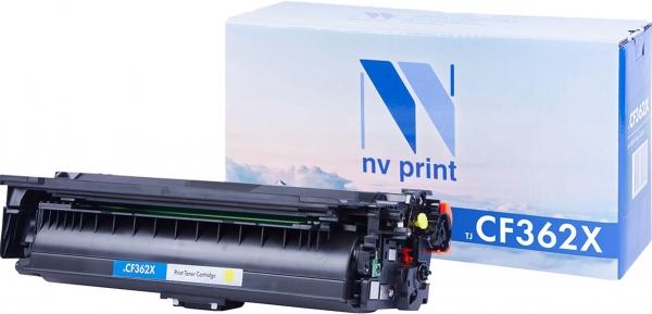 Картридж совместимый NVPrint CF362X для НР желтый