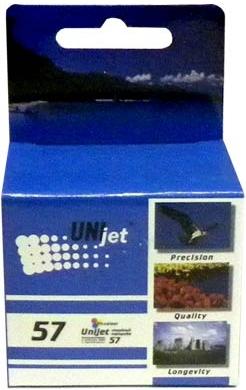 Картридж совместимый Unijet C6657A (57) для HP