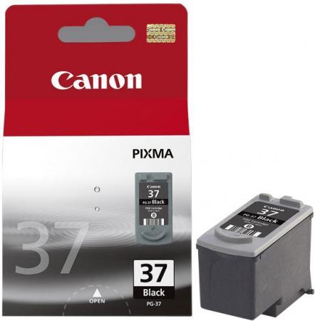 Картридж Canon Ink PG-37 черный оригинальный