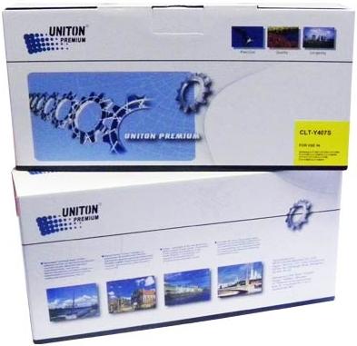 Картридж совместимый UNITON Premium CLT-Y407S желтый для Samsung