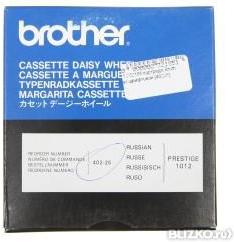 Картридж BROTHER M40225 шрифтовой (Daisy Wheel) оригинальный