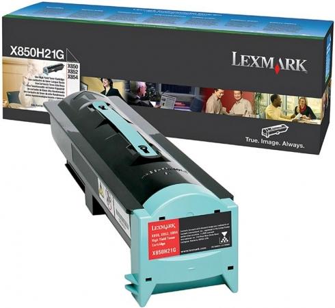 Картридж Lexmark X850H21G оригинальный